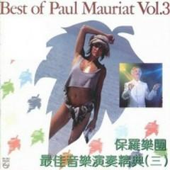 Best Of Paul Mauriat Vol.3 - Paul Mauriat