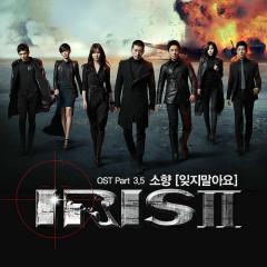Iris II OST Part.3.5 - So Hyang