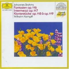 Brahms - Fantasien Op. 116, Intermezzi Op.117, Klavierstucke Op.118 & 119 CD 2
