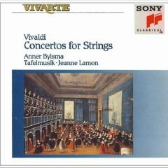 Vivaldi Concertos For Strings CD 1 - Anner Bylsma,Tafelmusik Baroque Orch & Chamber Choir