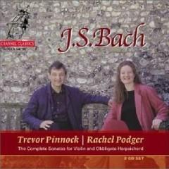 Bach Complete Sonatas For Violin And Obbligato Harpsichord CD 1 No.2