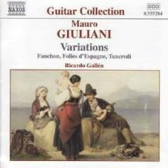 Mauro Giuliani - Variations  - Ricardo Gallén