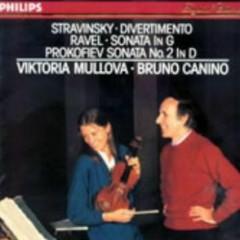 Stravinsky Ravel Prokofiev