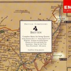 Benjamin Britten Complete Music For String Quartet CD 1