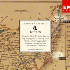 Benjamin Britten Complete Music For String Quartet CD 3