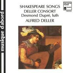 Shakespeare Songs And Consort Music (No. 1)