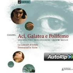 Handel - Aci, Galatea E Polifemo CD 1(No. 2)