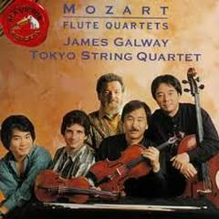 Mozart Flute Quartets (No. 2) - James Galway,Tokyo String Quartet