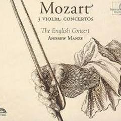 Mozart - 3 Violin Concertos
