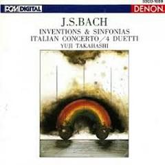 Inventions And Sinfonias, Italian Concerto, 4 Duetti (No. 3) - Yuji Takahashi