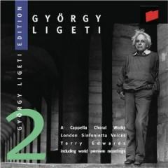 Gyorgy Ligeti Edition, Vol. 2 - A Cappella Choral Works (No. 3)