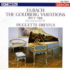 Bach - Goldberg Variations (No. 1) - Huguette Dreyfus