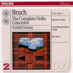 Bruch - The Complete Violin Concertos CD 2
