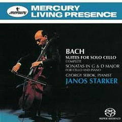 Bach - Suites For Solo Cello; Sonatas In G & D Major (No. 1) - Janos Starker