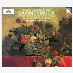 Bach - Chamber Music CD 5 - Reinhard Goebel,Musica Antiqua Koln
