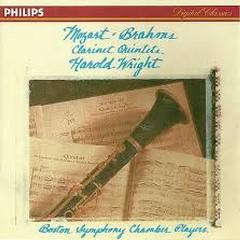 Brahms & Mozart - Clarinet Quintets - Harold Wright,Boston Symphony Chamber Players