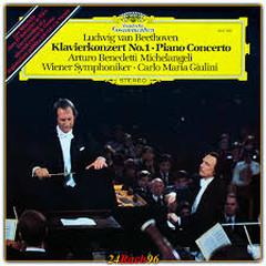 Beethoven - Piano Concertos Nos. 1 & 3 - Carlo Maria Giulini,Arturo Benedetti Michelangeli,Vienna Philharmonic