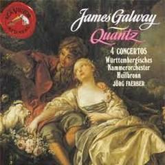 Quantz - Flute Concertos - Jorg Faerber,James Galway