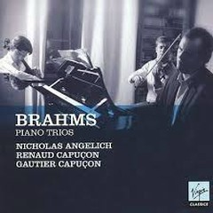 Brahms - Piano Trios CD 1  - Nicholas Angelich,Renaud Capucon