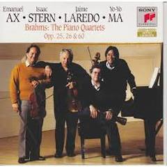 Brahms - The Piano Quartets, Opp. 25, 26 & 60 CD 1  - Emanuel Ax,Isaac Stern,Yo-Yo Ma