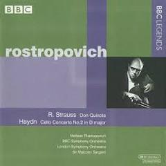 Strauss - Don Quixote; Haydn - Cello Concerto No. 2  - Mstislav  Rostropovich,BBC Symphony Orchestra