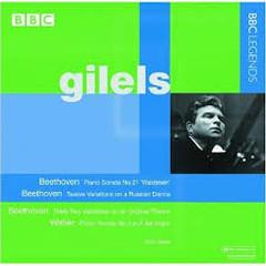 Gilels Plays Beethoven & Weber