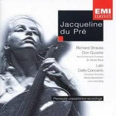 Strauss - Don Quixote; Lalo - Cello Concerto - Jacqueline du Pré,Adrian Boult,Daniel Barenboim,The Cleveland Orchestra