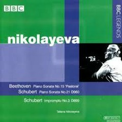Nikolayeva Plays Beethoven, Schubert  - Tatiana Nikolayeva