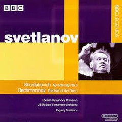 Shostakovich - Symphony No. 5; Rachmaninov - The Isle Of The Dead - Evgeny Svetlanov