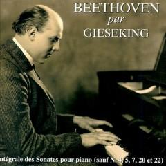 Gieseking Plays Beethoven Sonatas CD 7
