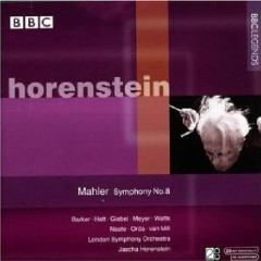 Mahler - Symphony No. 8 CD 1  - Jascha Horenstein,London Symphony Orchestra