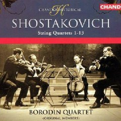 Shostakovich - String Quartets 1-13 CD 3 (No. 1) - Borodin Quartet
