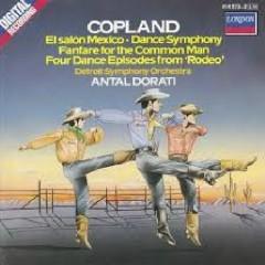 Copland - Rodeo, El Salon Mexico, Dance, Fanfare