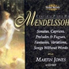 Mendelssohn - Complete Piano Music Disc 4