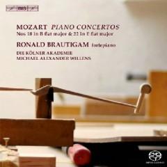 Mozart - Piano Concertos Nos. 18 & 22 - Ronald Brautigam,Michael Alexander Willens