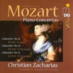 Mozart - Piano Concertos Vol. 6