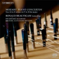 Mozart - Piano Concertos Nos 20 & 27 - Ronald Brautigam,Michael Alexander Willens