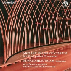 Mozart - Piano Concertos Nos. 19 & 23  - Ronald Brautigam,Michael Alexander Willens