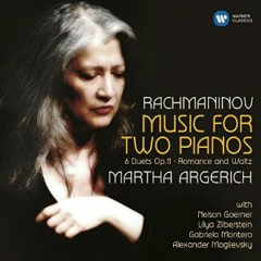 Rachmaninov Music For Two Pianos (No. 1) - Martha Argerich,Various Artists