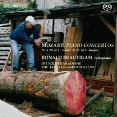 Mozart - Piano Concertos 24 & 25 - Ronald Brautigam,Michael Alexander Willens
