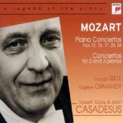 Mozart - Piano Concertos, Concertos For 2 And 3 Piano Vol 2 CD 2 - George Szell,Eugene Ormandy,Various Artists