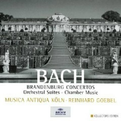 Bach - Brandenburg Concertos, Orchestral Suites, Chamber Music CD 6 (No. 1) - Reinhard Goebel,Musica Antiqua Koln