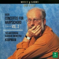 Bach - Concertos For Harpsichord Vol. 2 (No. 1)