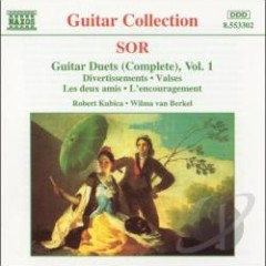 Sor - Complete Guitar Duets, Vol. 1 (No. 1)