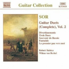 Sor - Complete Guitar Duets, Vol. 2 - Robert Kubica,Wilma van Berkel