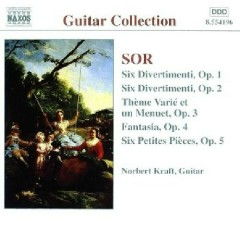 Sor - Guitar Music Op. 1 - Op. 5 (No. 1) - Norbert Kraft