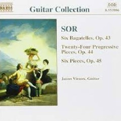 Sor - Guitar Music Op. 43 - Op. 45 (No. 1)