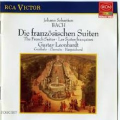 J. S. Bach - The French Suites; Die Franzosischen Suiten CD 2 (No. 1)