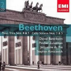 Beethoven - Piano Trios Nos. 4 & 5; Cello Sonatas Nos. 3 & 5 CD 1 - Jacqueline du Pré,Pinchas Zukerman,Daniel Barenboim,Stephen Kovacevich