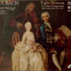 Bach - Violin Sonatas CD 2 (No. 1)